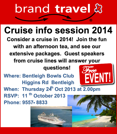 Brand Travel Cruise Info
