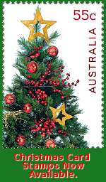 Christmas Card Stamps