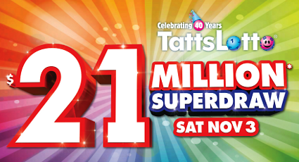 $21 Million TattsLotto Superdraw