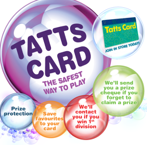 Tatts Card.